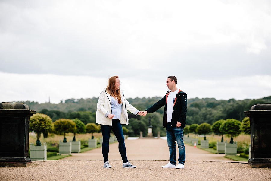 Heather & Paul - Engagement Photography - Trentham Gardens0004