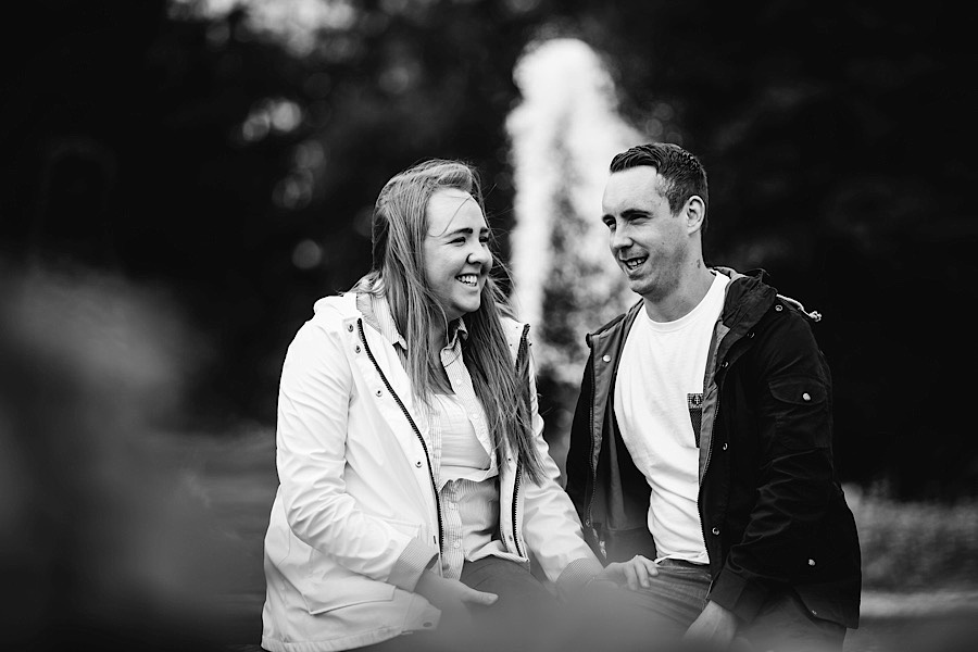 Heather & Paul - Engagement Photography - Trentham Gardens0012