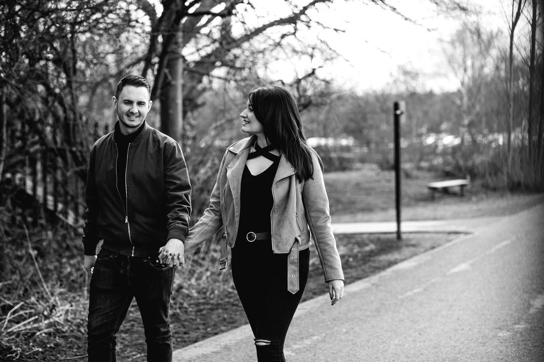 Kelly & Matt - Westport Lake Engagement Shoot. -16