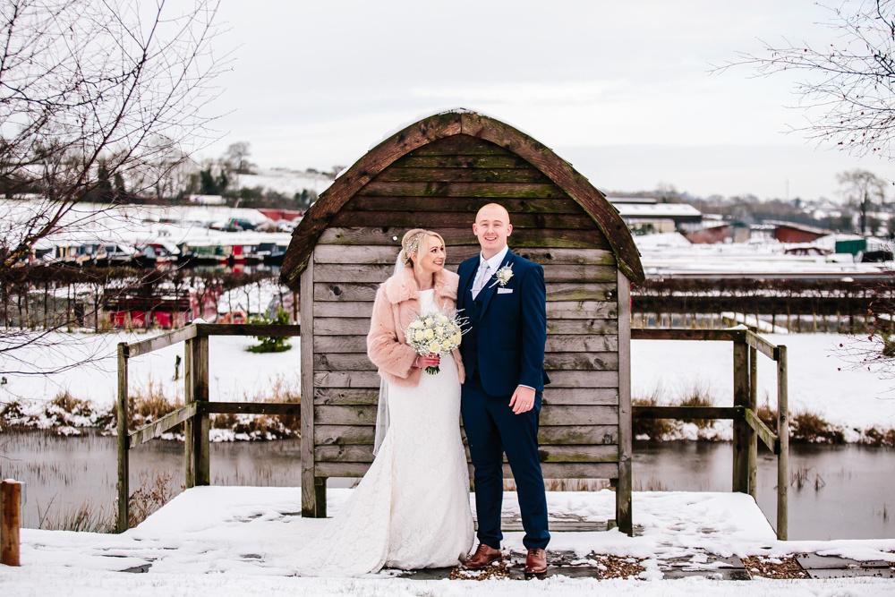 Aston Marina Wedding Photography - Jess & Dan - Winter Wedding-125