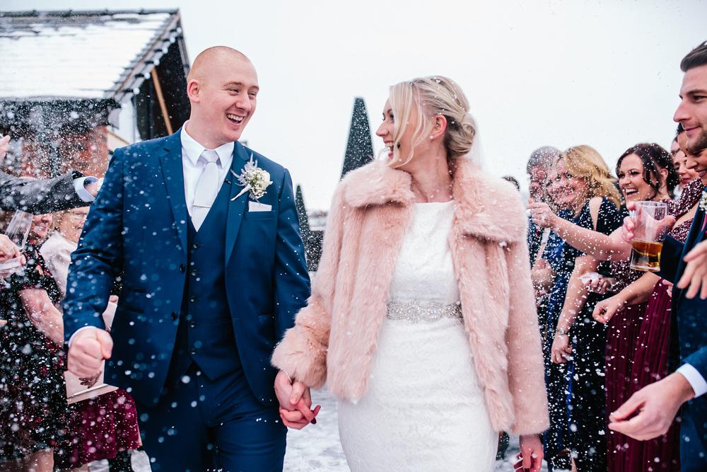 Aston Marina Wedding Photography - Jess & Dan - Winter Wedding-136