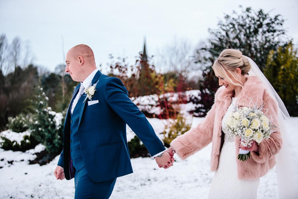 Aston Marina Wedding Photography - Jess & Dan - Winter Wedding-137