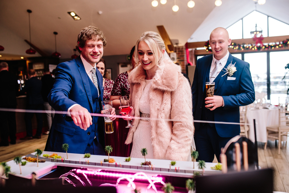 Aston Marina Wedding Photography - Jess & Dan - Winter Wedding-142