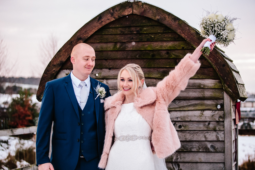 Aston Marina Wedding Photography - Jess & Dan - Winter Wedding-141