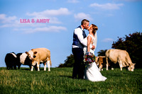 Lisa & Andy - Relaxed Countryside Wedding.