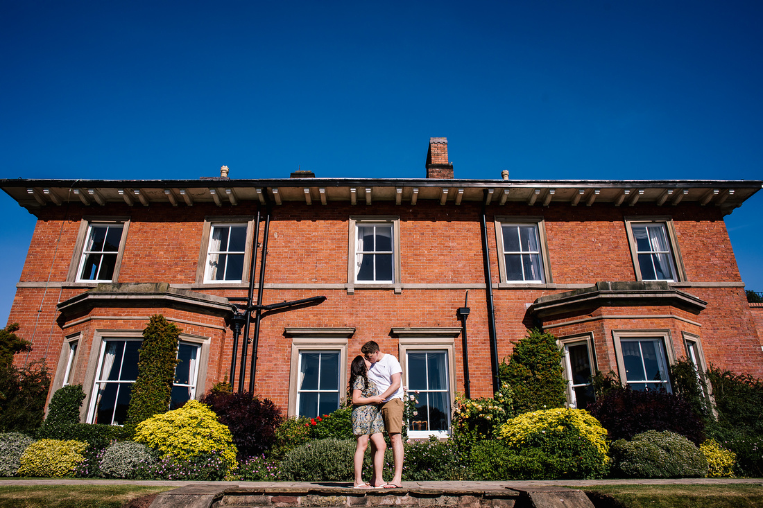 The Upper House Barlaston - Engagement Shoot - Staffordshire Wedding Photographer-7