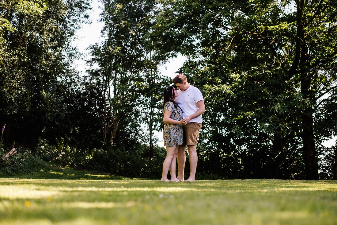 The Upper House Barlaston - Engagement Shoot - Staffordshire Wedding Photographer-11