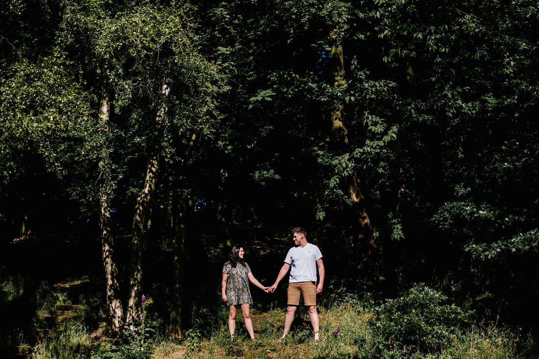 The Upper House Barlaston - Engagement Shoot - Staffordshire Wedding Photographer-14