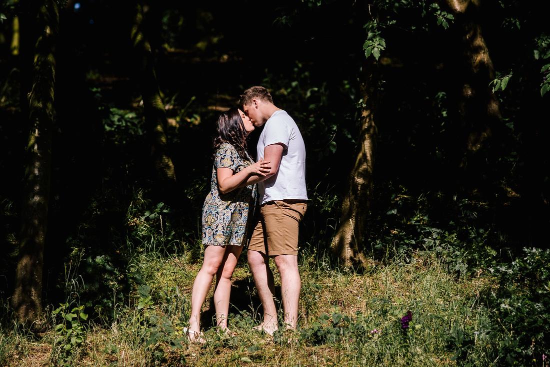The Upper House Barlaston - Engagement Shoot - Staffordshire Wedding Photographer-15