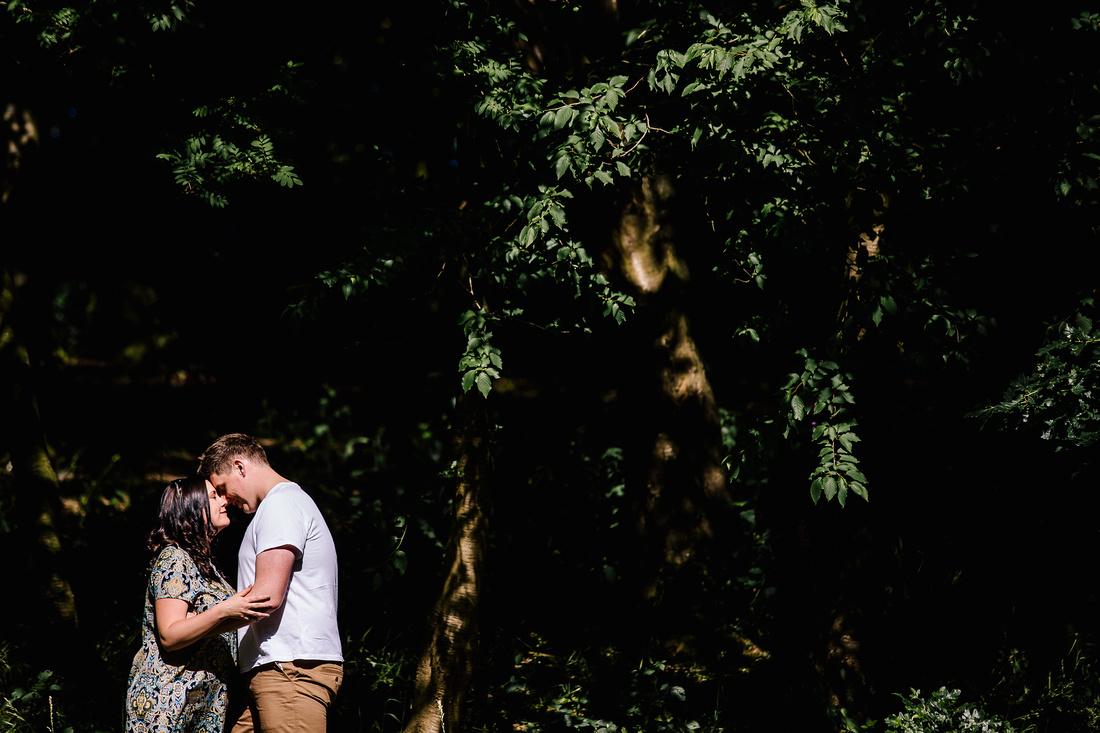 The Upper House Barlaston - Engagement Shoot - Staffordshire Wedding Photographer-16