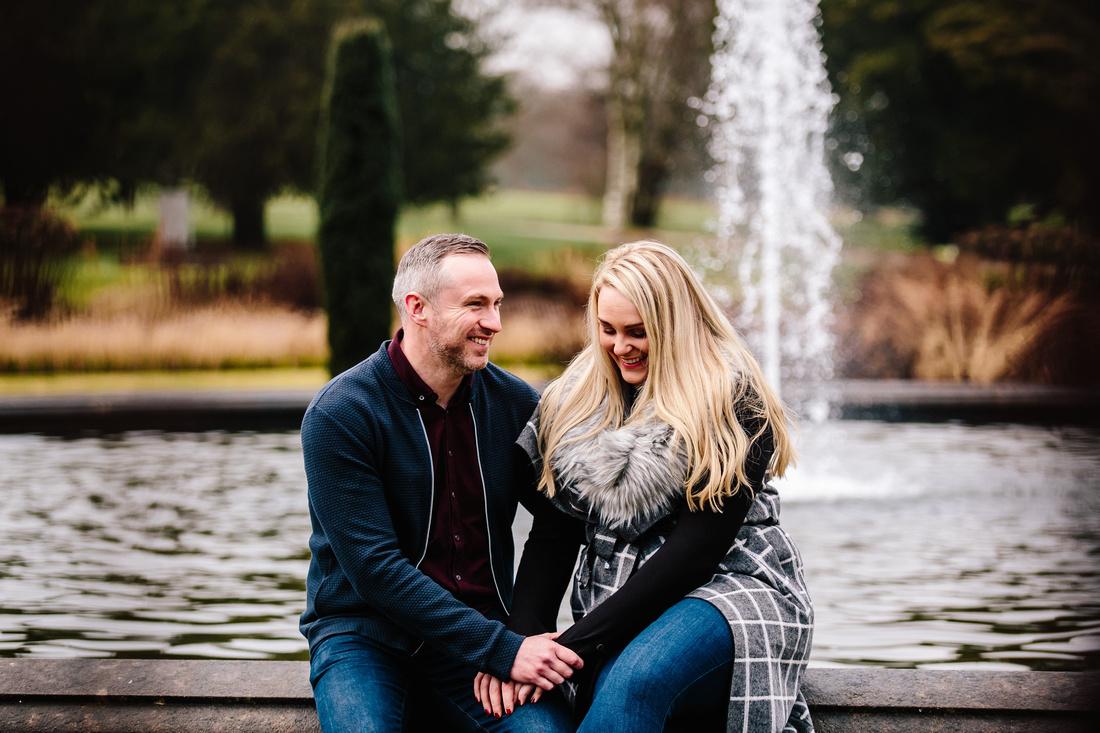 Engagement Shoot - Trentham Gardens - Hayley  Barry-71