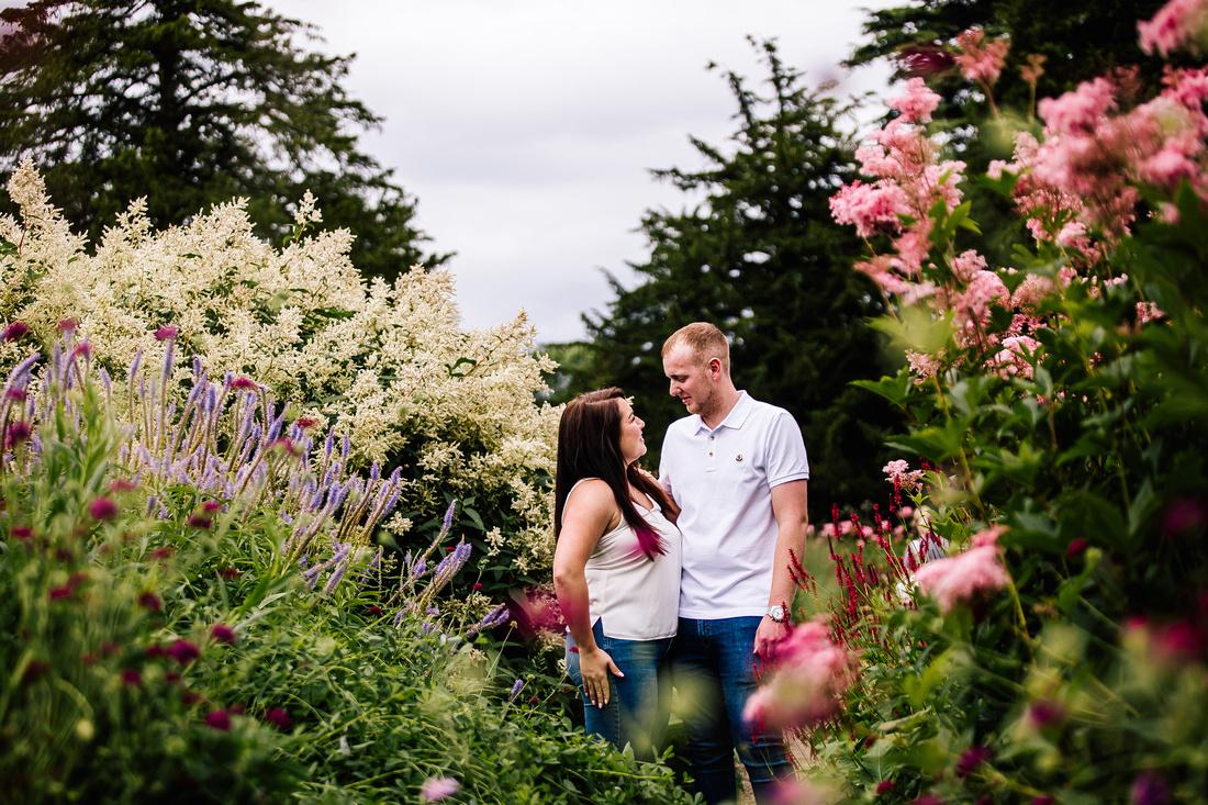 Staffordshire Engagement Photographer - Pre-Wedding Shoot - Trentham Gardens - Nicky-Tom - Samantha Jayne Photography-48