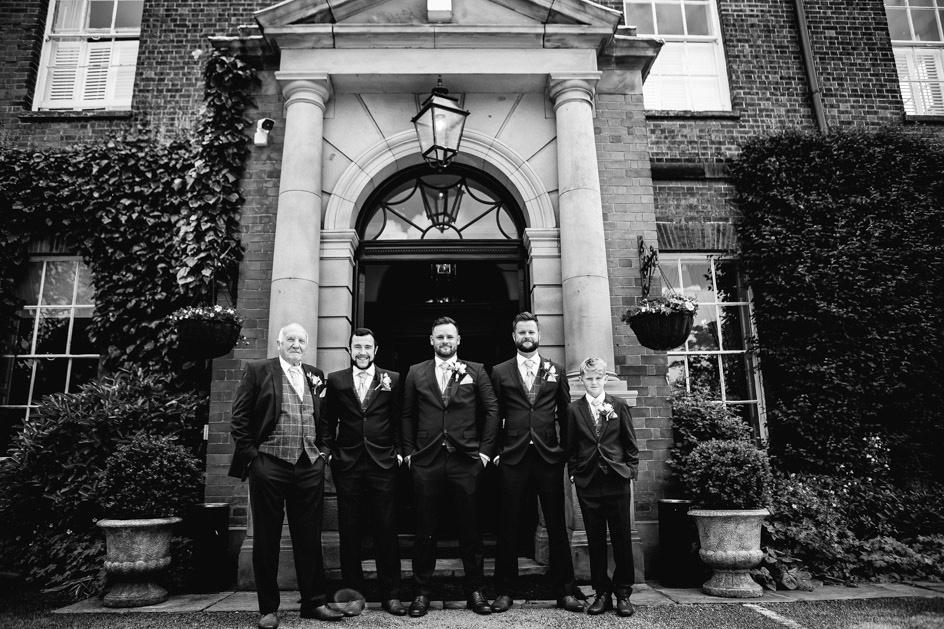 Dovecliff Hall Wedding Photography - Staffordshire Wedding Photographer.-34