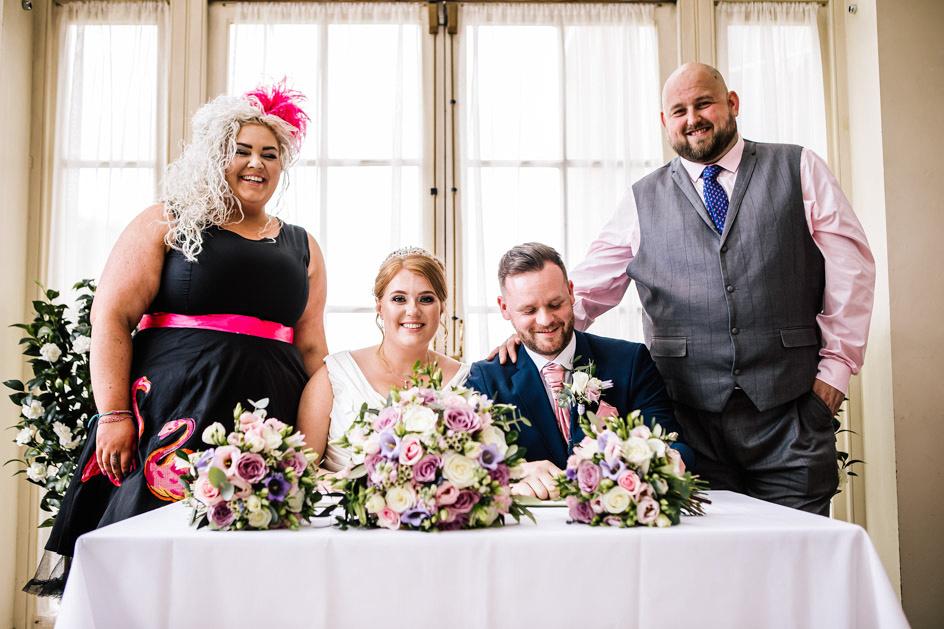 Dovecliff Hall Wedding Photography - Staffordshire Wedding Photographer.-55