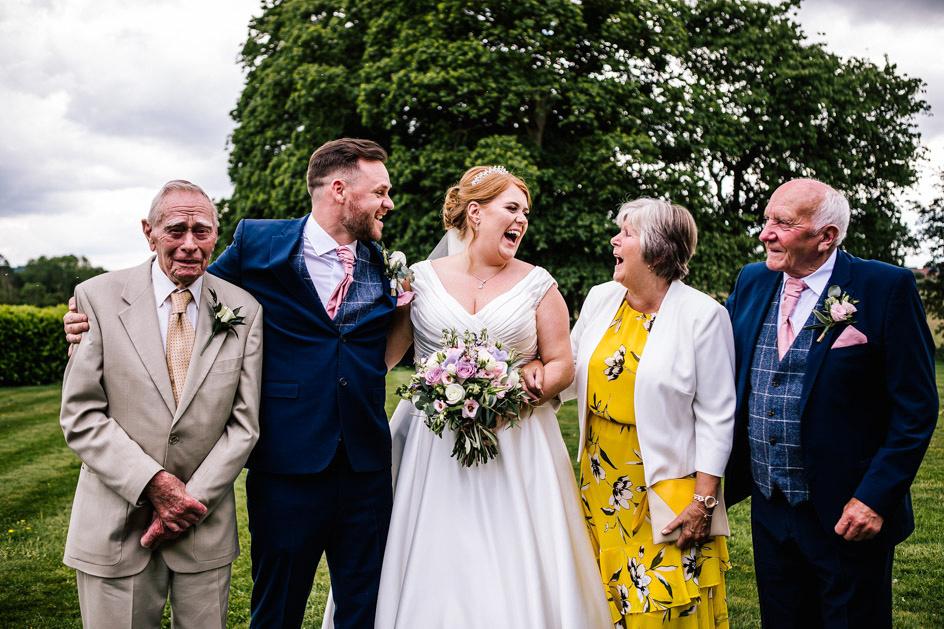 Dovecliff Hall Wedding Photography - Staffordshire Wedding Photographer.-68
