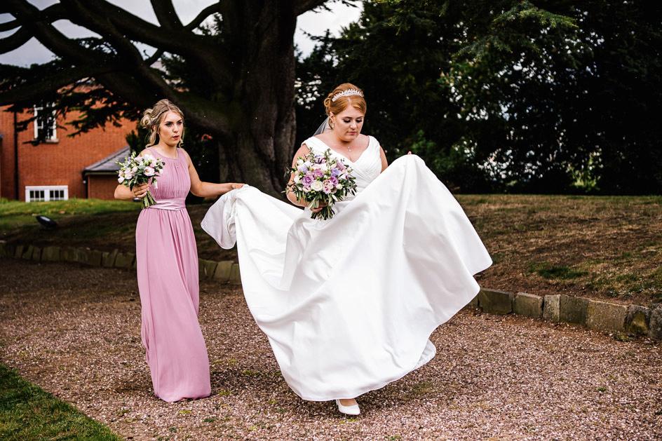 Dovecliff Hall Wedding Photography - Staffordshire Wedding Photographer.-73