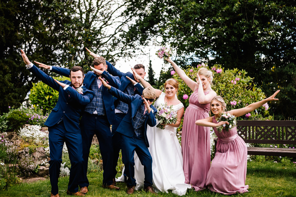 Dovecliff Hall Wedding Photography - Staffordshire Wedding Photographer.-80