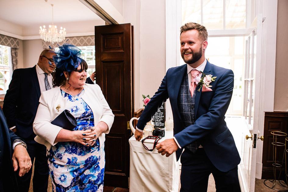 Dovecliff Hall Wedding Photography - Staffordshire Wedding Photographer.-103