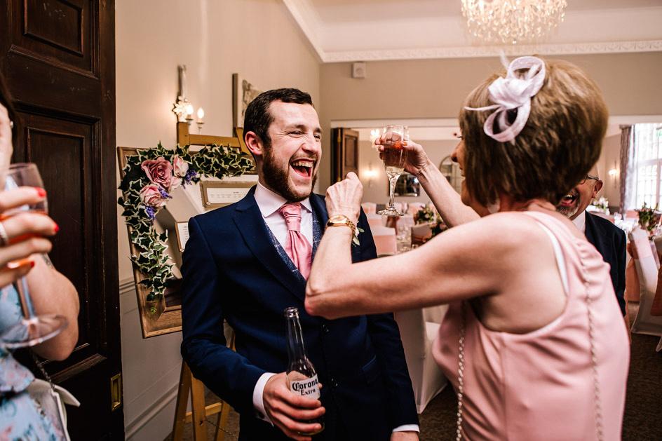 Dovecliff Hall Wedding Photography - Staffordshire Wedding Photographer.-102