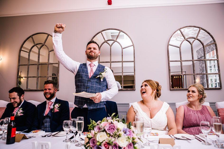 Dovecliff Hall Wedding Photography - Staffordshire Wedding Photographer.-113