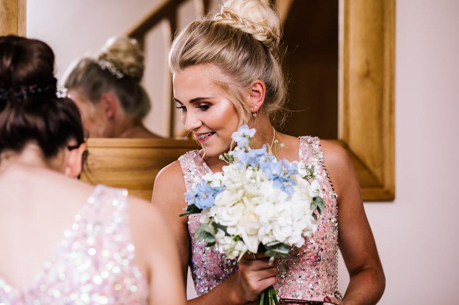The Oak Tree Of Peover Wedding Photography - Cheshire Wedding Photographer-235