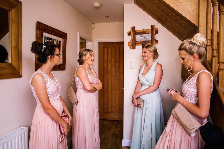 The Oak Tree Of Peover Wedding Photography - Cheshire Wedding Photographer-233