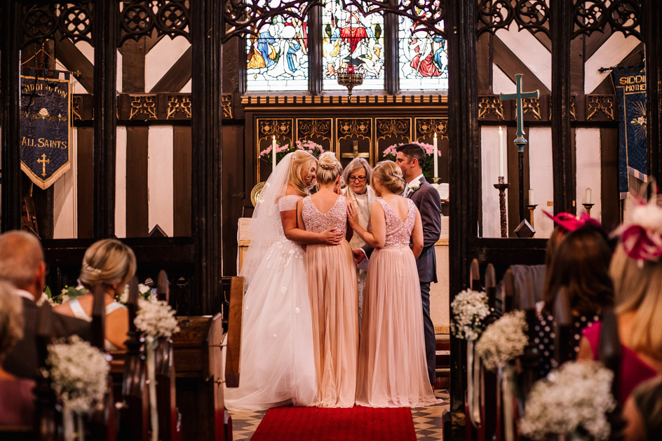The Oak Tree Of Peover Wedding Photography - Cheshire Wedding Photographer-327
