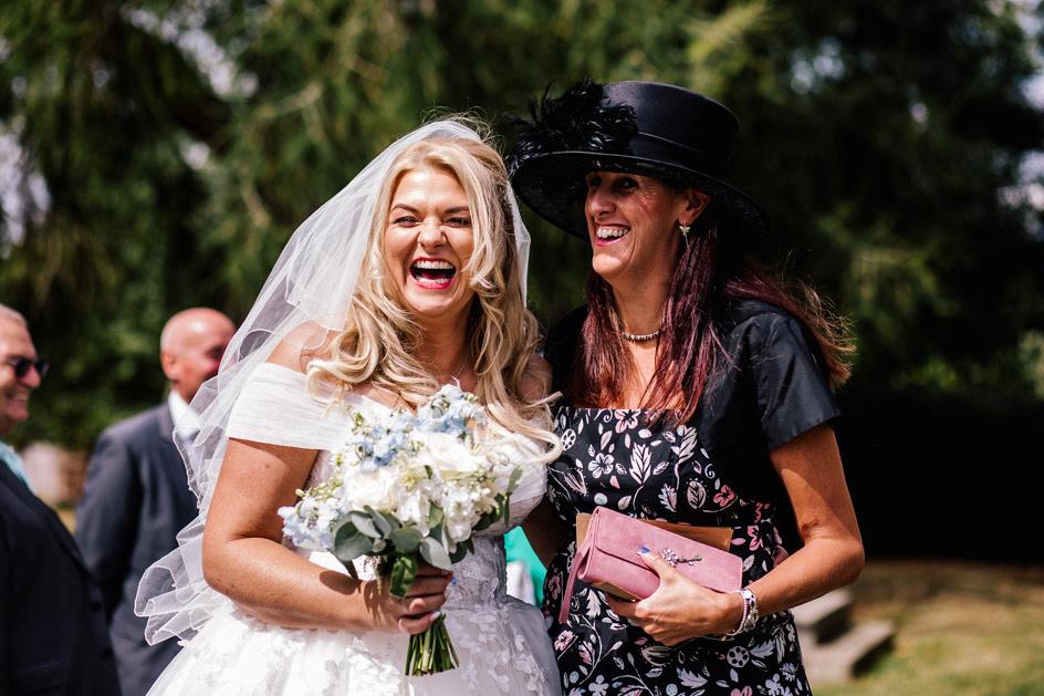 The Oak Tree Of Peover Wedding Photography - Cheshire Wedding Photographer-415