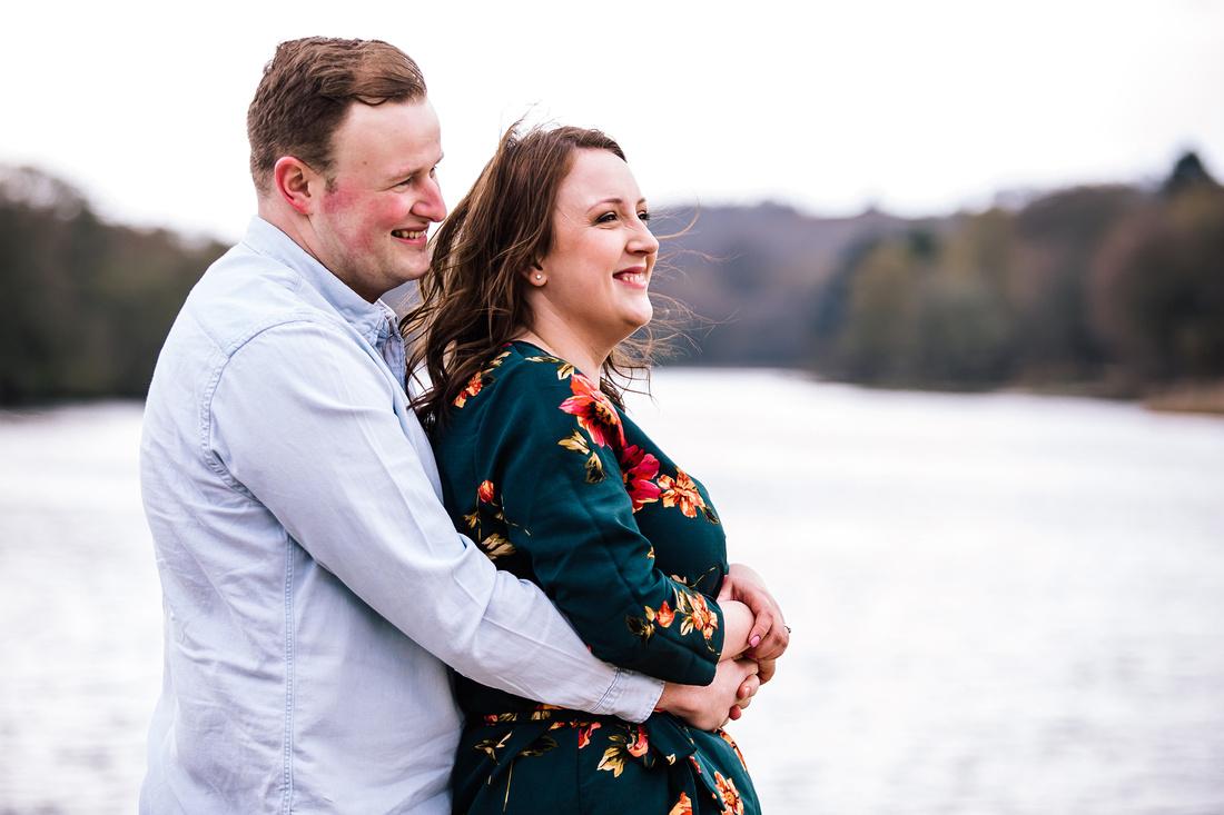 Trentham Gardens Engagement Shoot - Staffordshire Wedding Photographer. -56