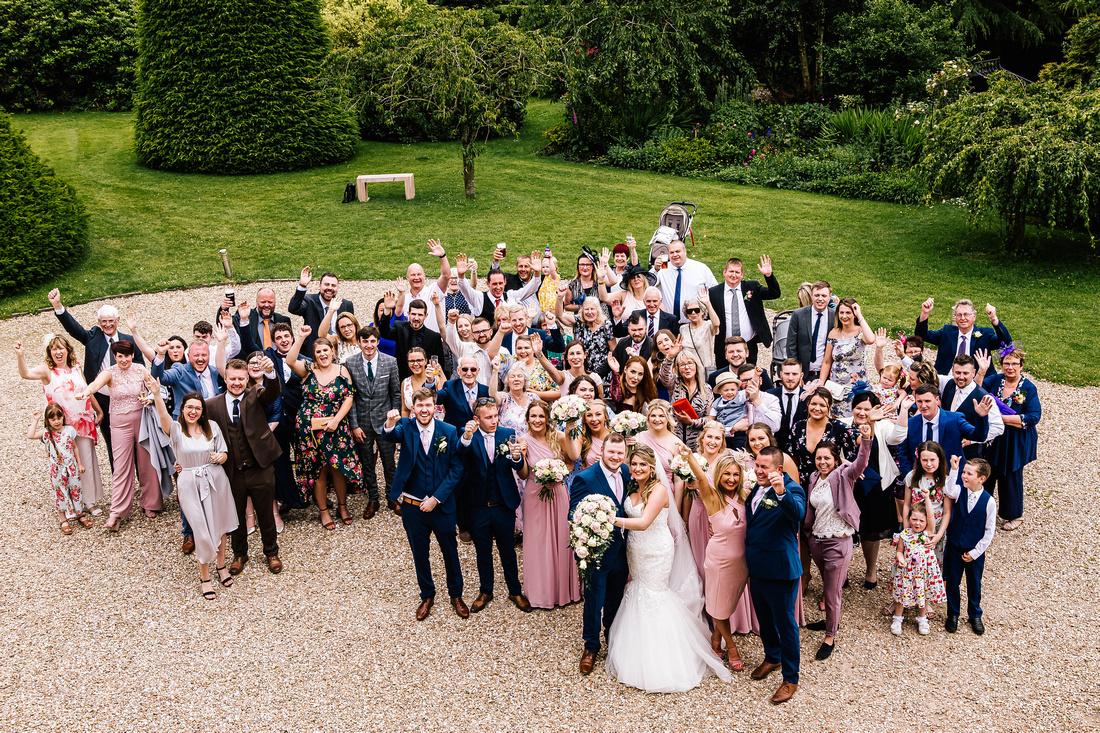 Shottle Hall Wedding Photographer - Samantha Jayne Photography-63