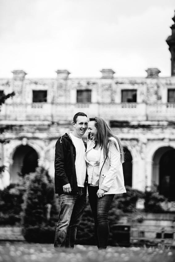 Heather & Paul - Engagement Photography - Trentham Gardens0002