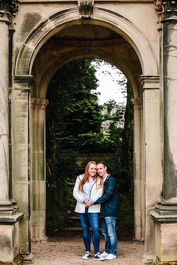 Heather & Paul - Engagement Photography - Trentham Gardens0008