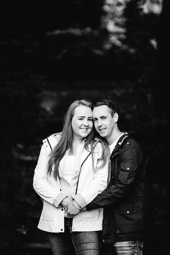 Heather & Paul - Engagement Photography - Trentham Gardens0009