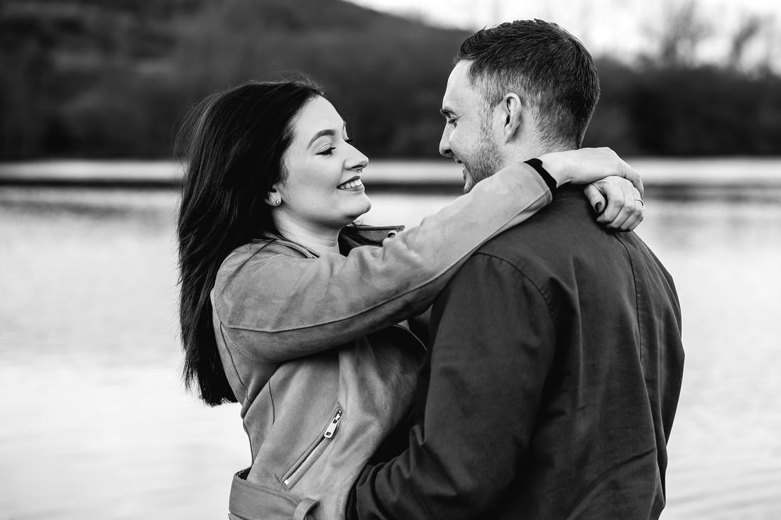 Kelly & Matt - Westport Lake Engagement Shoot. -10