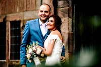 The Ashes Wedding Photography - Staffordshire Wedding Photographer - Amy & Rob-562