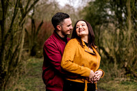 Kelly & Matt - Westport Lake Engagement Shoot. -20