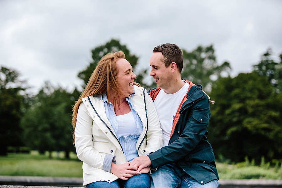 Heather & Paul - Engagement Photography - Trentham Gardens0013