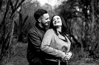 Kelly & Matt - Westport Lake Engagement Shoot. -19