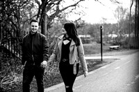 Kelly & Matt - Westport Lake Engagement Shoot. -16