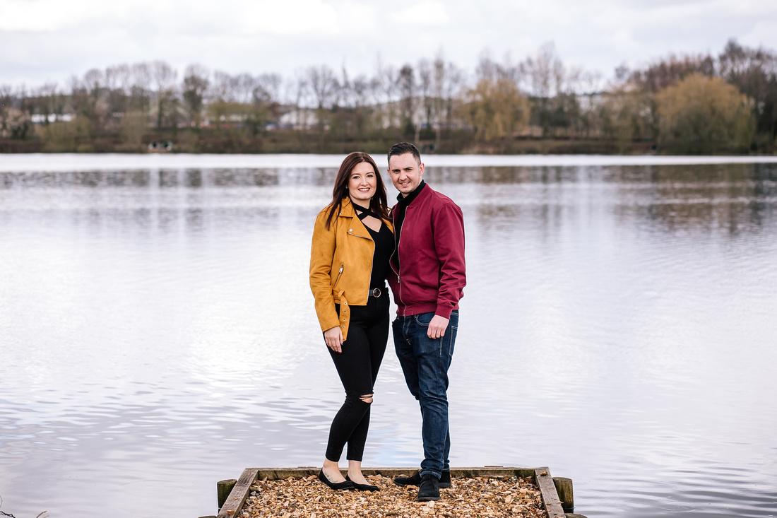 Kelly & Matt - Westport Lake Engagement Shoot. -5